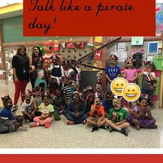 Thanks to @orientaltrading our day was a success please check it it and see how they helped us!!! Bit.ly/coll5h q#talklikeapirateday #teacherfriends #sousharks