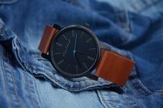 Watch  Leather watch  Mens watch  Womens watch  by LeatherAndStyle