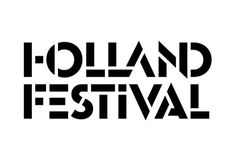 Thonik's new identity for the Holland Festival builds on its graphic history with a combination of stencil and ligature