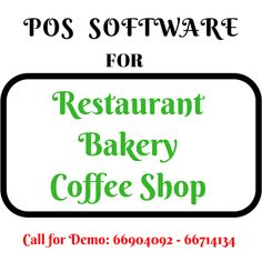 POS Software for Bakery, Coffee Shop, Restaurant 250.000 KWD Touch Screen Software Fine-Dining Home-Delivery Take Away Inventory & Stock Management Su... - q8 supply - Google+