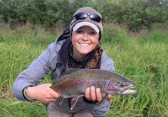 Smiles at Egdorfs Western Alaska Sport fishing