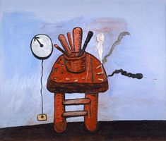Philip Guston - Studio Bench 1978
