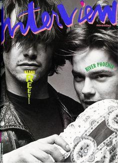 Interview Nov 1991 - Keanu Reeves & River Phoenix