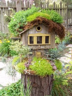 fairy garden, cambria pines lodge