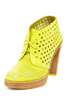 Cole Haan Mariela Air Chukka Bootie - totally statement-making shoe!