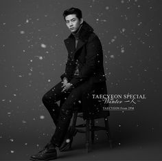 East Asia Addict: [CD] TAECYEON (From 2PM) – Winter 一人 [1st Japanese...