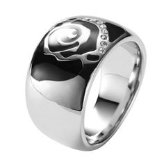 Fossil Women Ring JF85372 Stainless Steel Jewelry