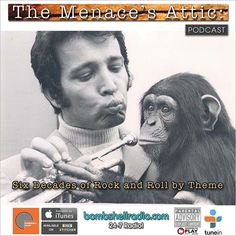 Today 5pm-6pm EST bobmshellradio.com  The Menace's Attic/Just Another Menace Sunday Bombshell Radio  No time to Monkey around! We're playing catch up this week. While host Dennis The Menace is away  we have a great not yet heard on Bombshell Radio Archival Show for you tonight!  #classics #pop #rock #classicrock #themenacesattic #bombshellradio