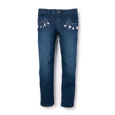 Girls Jeweled Skinny Jeans | The Children's Place