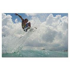 Ready2hangart 'Surf' by Nicola Lugo Framed Photographic Print