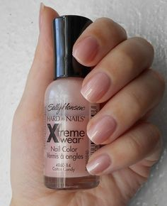 Sally Hansen Hard As Nails Xtreme Wear Nail Color Cotton Candy 84 — Отзывы о косметике — Косметиста