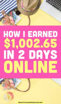 I'll be discussing how I earned 1,000 in 2 days online. I'm sharing my income because I realize that most people want to see numbers. They want to know what's possible with blogging and what steps they need to take to get there. Income report.