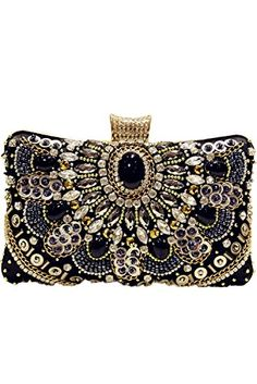 d071cf590d46 Bettyhome Women Crystal Snowflake Velvet Rhinestone Chain Clutch Evening  Bag Purse (camel) - Evening bags ( Amazon Partner-Link)