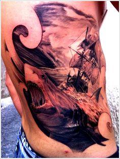 Shark Tattoo Designs: The Shark Tattoo Meaning And Ideas ~ tattooeve.com Tattoo Design Inspiration