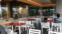 KFC Purbalingga – Klinthung Kfc, Restaurants, Conference Room, Table, Furniture, Home Decor, Decoration Home, Room Decor, Restaurant
