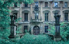 Abandoned palace in Poland.