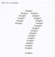 vicente huidobro poemas caligramas - Buscar con Google
