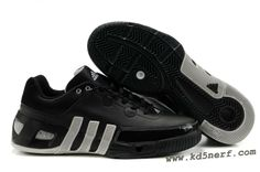 Adidas Kevin Garnett Shoes 6 Low Black White Discount