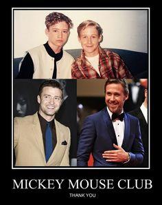 Justin Timberlake, Ryan Gosling