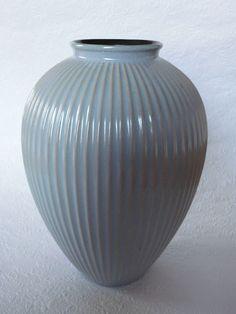 Große 50er Jahre Keramik Vase STEULER Keramik Rippenvase    eBay