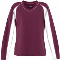 Ladies Wicking Mesh Charger Jersey - Maroon - XSmall $23.00
