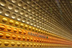 Prague metro stations - check out the set! by lloydi, via Flickr