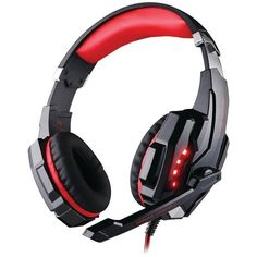 Kotion G9000BL Premium Gaming Headset with USB and Microphone