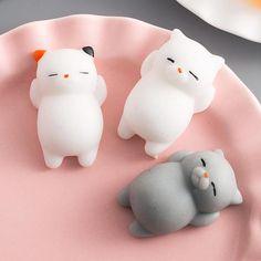 Cute Overload 3D Animals Squishy Cat Bear Seal Chicken Phone
