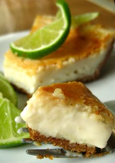 Vegan Key Lime 'Cheesecake'