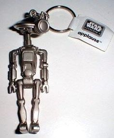 Rare! 1998 STAR WARS Episode 1 PIT DROID PEWTER KEYCHAIN - Fully Articulated! Applauxe http://www.amazon.com/dp/B004VPU5SC/ref=cm_sw_r_pi_dp_hgTXtb0WDHXJJ7H3