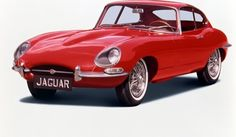 They don't make them like they used to: Jaguar e-type, 1961: Victoria & Albert Museum, London