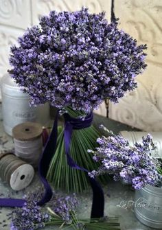 Find images and videos about flowers, rose and lavender on We Heart It - the app to get lost in what you love. Lavender Bouquet, Lavender Flowers, Love Flowers, Purple Flowers, Beautiful Flowers, Wedding Flowers, Lavender Cottage, Lavender Fields, Lavender Color