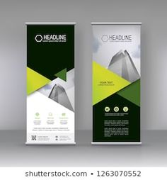 can use for brochure flyer, covers ,infographics ,vector abstract geometric background, modern x-banner and flag-banner advertising design element Rollup Design, Rollup Banner Design, Web Banner Design, Web Design, Store Design, Graphic Design Typography, Branding Design, Standing Banner Design, Standee Design