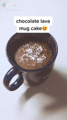 Mug Recipes, Easy Baking Recipes, Microwave Recipes, Dessert Recipes, Cooking Recipes, Starbucks Recipes, Easy Snacks, Diy Food, Cake In A Cup