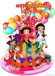 Bildergebnis für tarjetas de cumpleaños para una sobrina animadas Birthday Wishes, Happy Birthday, Birthday Cake, Betty Boop, Greetings Images, Party Shop, Princess Peach, Desserts, Food