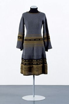 andrea zittel Thrifting, High Neck Dress, Textiles, Crochet, Sweaters, How To Wear, Image, Shopping, Collection