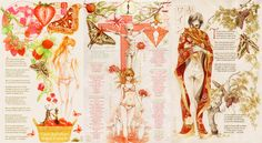 "Soryu / Shikinami Asuka Langley / Evangelion - 14  A-ka (Tryptic). ""Red Moon"" ""Red Sea"" ""Red Wine"" . . . hadaly lilith poem poetry moth sphinx love valentines caterpillar strawberry doll lilith crucifixion apple red wine moon sea"