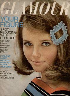 Cheryl Tiegs cover of Glamour Magazine