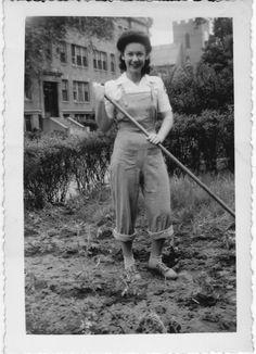Vintage Victory Garden, June 1944