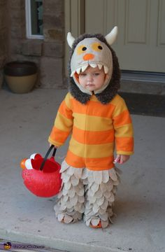 Where the Wild Things Are - Lil Wild Thing in Costume.