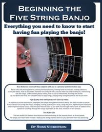 Ross Nickerson has the best beginner banjo book and DVD for beginner banjo students. Learn banjo rolls, chords, how to tune a banjo, play songs and much more. Let's Play Guitar, Music Guitar, Playing Guitar, Ukulele, Banjo Tabs, Old Time Religion, Beginner Books, Music Sing, Music Lessons