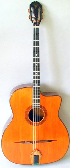 Selmer Plectrum Guitar #LardysChordophoneOfTheDay ~ https://www.pinterest.com/lardyfatboy/lardys-other-fretted-chordophones-of-the-day/ ~