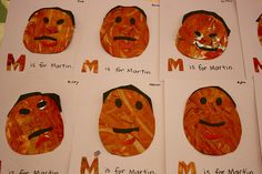 Martin Luther King, Jr. Day: Finger paint and paper-piece, Eric Carle style.