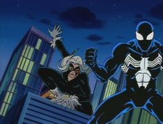 "There are many, many characters that we were supposed to see on ""Spider-Man: The Animated Series"". Description from foxspideyfansite.yolasite.com. I searched for this on bing.com/images"