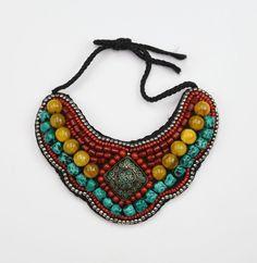 Dharmashop.com - Tibetan Traditional Necklace, $98.00 (http://www.dharmashop.com/tibetan-traditional-necklace/)