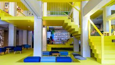 My Chic Hostel is the largest collection of best hostels, luxury hostels, boutique hostels, design hostels & poshtels worldwide. Travel in style on a budget! Best Hostels In Europe, Working Holidays, Architecture Student, Gap Year, Atrium, Lodges, I Am Awesome, Cool Designs, Furniture Design