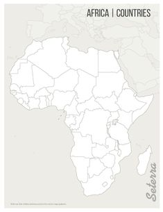 Blank map of North America, Countries (pdf)   Flute\'s Journey ...