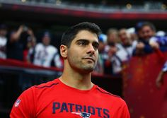 FOXBORO -- One of the biggest storylines with the Patriots in the 2017 NFL draft was whether or not they would trade Jimmy Garoppolo.  Despite reported mu
