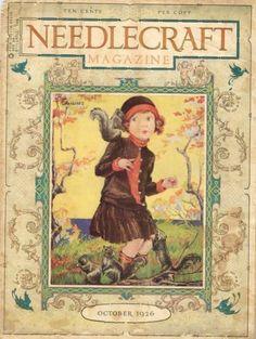 1920s-Needlecraft-Magazine-October-1926-Crochet-Patterns-Mail-Order-Pattern-Ads
