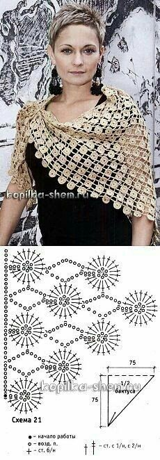 18 Best Ideas for crochet lace scarf pattern table runners Col Crochet, Crochet Lace Scarf, Bonnet Crochet, Crochet Shawls And Wraps, Crochet Collar, Crochet Diagram, Crochet Scarves, Crochet Motif, Crochet Clothes